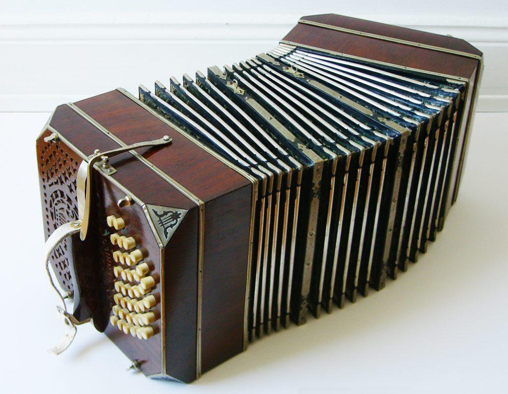 bandoneon, instrumento de viento