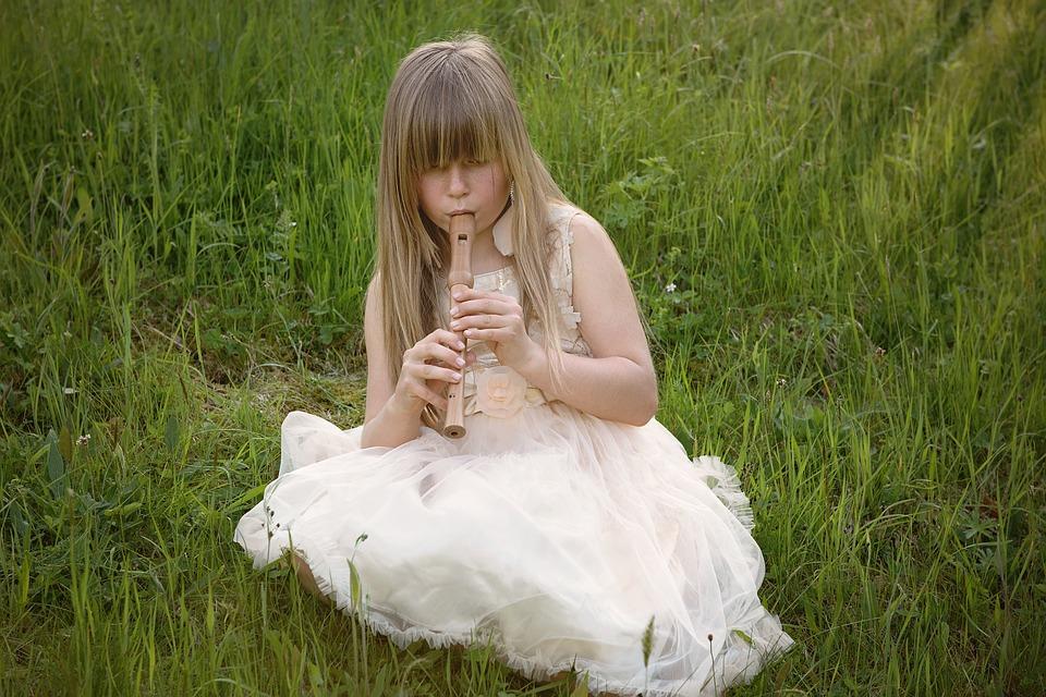 Flauta niña
