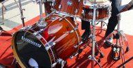 percusion, instrumento, bateria