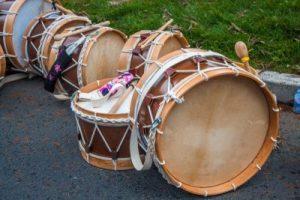 bombo,instrumento de percusion