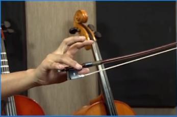 como tocar la viola, la viola