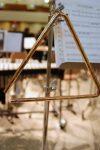 Triángulo musical instrumento