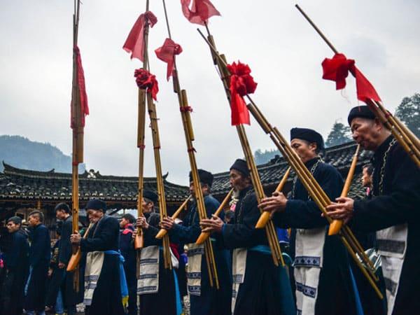 lusheng, instrumento de viento, instrumento musical de china