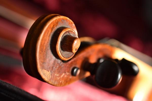 caracol de viola, partes de viola, instrumento de cuerda